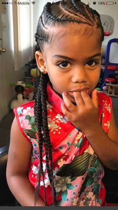 Braids little girl #littlegirlhair