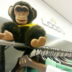 A Loopy dá uma banana para o racismo! o/  #somostodosmacacos #somostodoshumanos #somostodosiguais #somostodosloopy