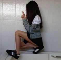 Image about girl in Photography by Pau on We Heart It Adidas Superstar, Grunge, Instagram Photo Video, Favim, Tumblr Girls, Models, Picture Poses, Pretty People, Cool Photos