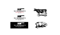 Establishing a brand identity for any business is an integral part of success. Dorset based agency Digitally Roasted were approached by SJ Norman and Sons - an established butchers over 100 years old - to create an entire identity.