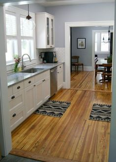 8 Delicious Clever Tips: Kitchen Remodel Bar Fixer Upper kitchen remodel colors blue.Really Small Kitchen Remodel kitchen remodel with island Kitchen Remodel Small Houses. Small Galley Kitchens, Galley Kitchen Design, Galley Kitchen Remodel, Kitchen Redo, New Kitchen, Home Kitchens, Kitchen Cabinets, Kitchen Ideas, Kitchen Remodeling