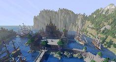 Minecraft Frozen - Arendelle Minecraft Project