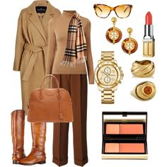 Классический комплект by tggalkina on Polyvore featuring мода, Designers Remix, Jean-Paul Gaultier, Frye, Hermès, Tory Burch, Fred Leighton, Daphna Simon, Burberry and Kevyn Aucoin