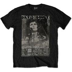 David Bowie Men's Tee: Ziggy Wholesale Ref:BOWTS20MB