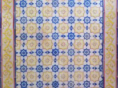 """I've got sunshine on a cloudy day.""  #PortugueseTiles #Tiles"