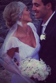 Bohemian wedding veil  #vintagewedding