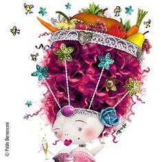 Obra de Pablo Bernasconi Illustrations Posters, Enchanted, Collage, Christmas Ornaments, Holiday Decor, Digital, Shirt, Frases, Illustrators