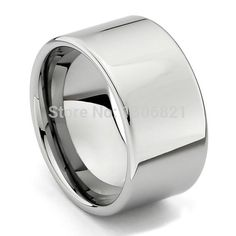 Very large size width 12mm high polished tungsten ring mens cool ring-in Rings from Jewelry & Accessories on Aliexpress.com | Alibaba Group