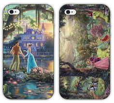 Disney Princess The Frog Sleeping Beauty iPhone 4 4S 5 Plastic Case Two Pack | eBay