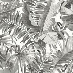 Abundance Palm Gray - Gray Sample