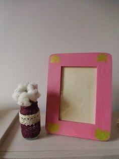 Pink photo frame Pink Photo, Frame, Home Decor, Picture Frame, Decoration Home, Room Decor, Frames, Home Interior Design, Home Decoration