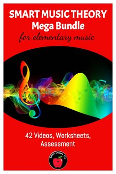 42 movie files - over 70 minutes of video! Includes  note name posters, Teachers Guide, links to online Assessments for Google classroom, reproducible workbook and evaluation pages. UNITS INCLUDE: STAFF - Lines Music Theory For Beginners, Basic Music Theory, Music Theory Games, Music Theory Worksheets, Help Teaching, Teaching Music, Music Activities, Treble Clef, Elementary Music