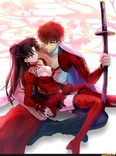 #Fate, #Rin, #Shirou