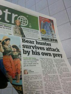 Canadian news