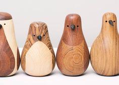 little wooden birdies