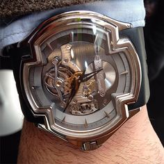 """What Makes Me Tick on Instagram: """"Something we rarely see: from boutique tourbillon maker Cecil Purnell"""""""