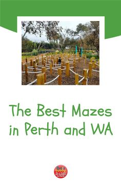 Get lost in a maze in Perth! There are many mazes to amaze and confuse the whole family. From traditional hedge mazes, to wooden labyrinths, kids and adults alike will love the challenge of finding their way through a maze. See our guide to mazes in Perth and regional WA, to find your way out of here. #perth #perthkids #mazes Labyrinths, Maze, Regional, Perth, Finding Yourself, Challenges, Lost, Good Things, Traditional