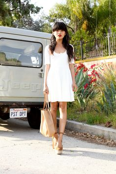 Petite Fashion Bloggers :: Lust for Life :: For Love & Lemons Dress