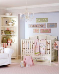 whimsical but not over the top #babyroom