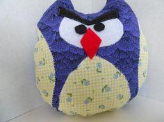 Mad Owl Plushie $10 by PushingUpDaizies on #zibbet