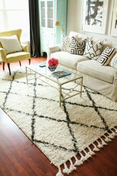 Burlap and Lace: Rug Update and a Review