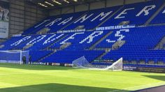 FA covers up 'Super White Army' banner at Tranmere Rovers Tranmere Rovers, Super White, Baseball Field, Cover Up, Banner, Army, England, Banner Stands, Gi Joe