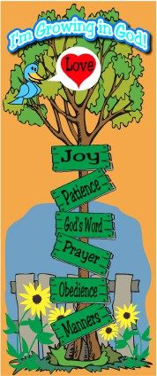 See How They Grow:  A Fun Sunday School Scripture Game or Home School Activity