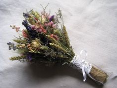 Summer sunset wedding bridal bouquet ,dried country garden wedding bridal bouquet summer dry wedding bouquet always wanted live flowers - but these may change my mind