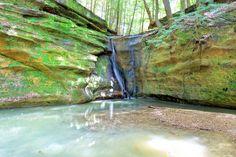 Waterfall near Bremen Ohio - http://ift.tt/2CxLEz8