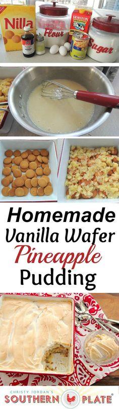 Homemade Vanilla Waf