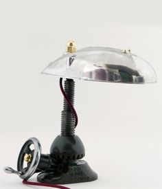 A shot of our desk lamp from the show which can also be found in our archive