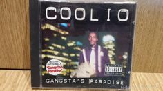 COOLIO. GANGSTA'S PARADISE. CD / TOMMY BOY MUSIC-1995. 17 TEMAS / BUENA CALIDAD.