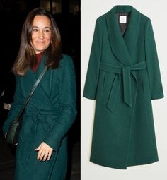Shop the Mango structured wool coat as seen on Pippa Middleton Glen Affric, Pippa And James, Pippa Middleton Style, Meghan Markle Style, Wool Coat, Mango, Outfits, Shopping, Fashion
