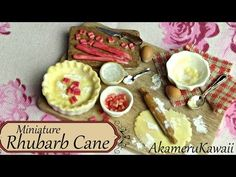 Miniaure Baking Scene - Minature Bowls - polymer clay tutorial - YouTube