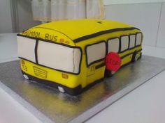 Tarta autobus...para Xoel...del año pasado