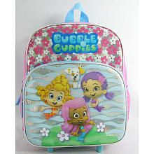 Bubble Guppies 12 inch Rolling Backpack