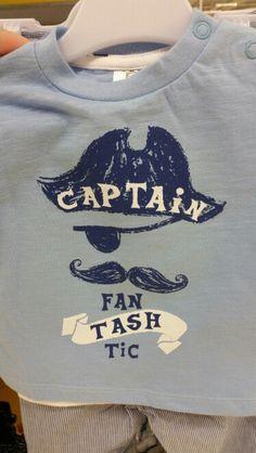 Captain fanTASHtic Tesco Clothing F+F boys tshirt
