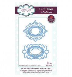 Craft Dies by Sue Wilson - Pacific Ocean Collection - Tag Duo CED12003 from Joanna Sheen