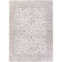 Potter POT-9903 Ivory/Gray Traditional Rug