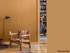 Kolekcja Tikkurila Color Now 2019 - poznaj ją bliżej! Interior Ideas, Terracotta, Home And Garden, Living Room, Space, Bedroom, Architecture, Wall, Modern
