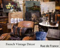 French Vintage Decor Vintage Decor, French Vintage, Painting, Art, Art Background, Painting Art, Kunst, Paintings, Performing Arts