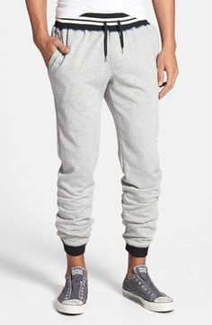 The Rail Fleece Jogger Pants - ShopStyle Casual Mens Joggers Sweatpants, Mens Jogger Pants, Fleece Joggers, Jogging, Outfit Of The Day, Nordstrom, Mens Fashion, Shorts, Casual