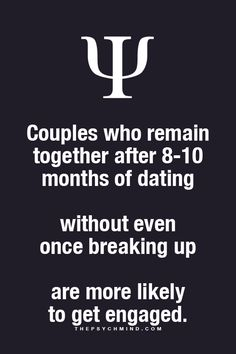 True, unfortunately in my case. 10 months in an abusive relationship and we still got engaged. It never should have last so long.