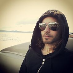 Jared Leto. On the boat in beautiful Norway. (via http://instagram.com/p/a_eU1cAPtw/