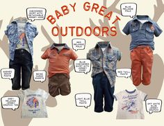 Gingersnaps Baby Great Outdoors Collection #Gingersnaps #GingersnapsPh #infantboys #collection #kids #baby #fashion