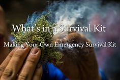 What's in a survival kit? Find here all the necessary objects of first necessity and learn how to make your own survival kit.