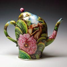 Kurt Weiser botanist tea pot