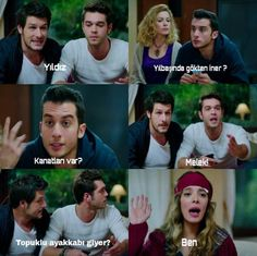 Kaçak Gelinler Series Movies, Tv Series, Comedy Zone, Movie Lines, Film Quotes, Galaxy Wallpaper, Turkish Actors, Couple Goals, Cool Words