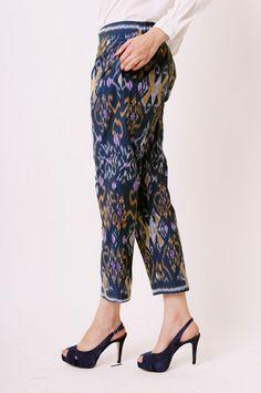 [cottonink-shop.com] sailor ikat pants