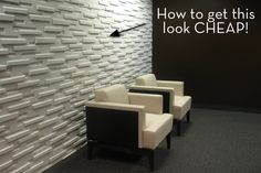 Make: Cheap Mod Wall Treatment
